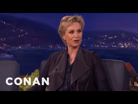 Jane Lynch Got Acting Tips From Harrison Ford  - CONAN on TBS
