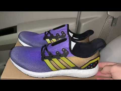 Adidas AM4 Thanos Marvel Avengers shoes
