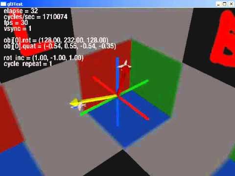 quaternion vs euler rotation - YouTube