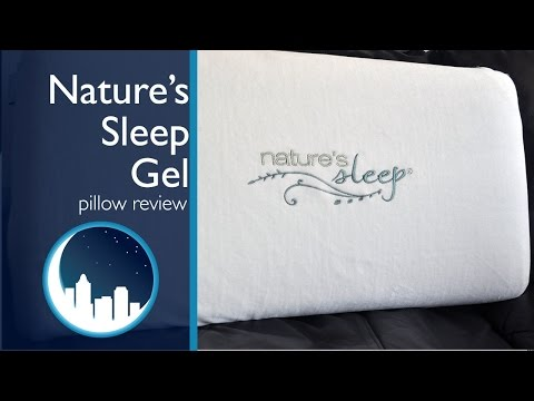 Nature S Sleep Gel Memory Foam Pillow