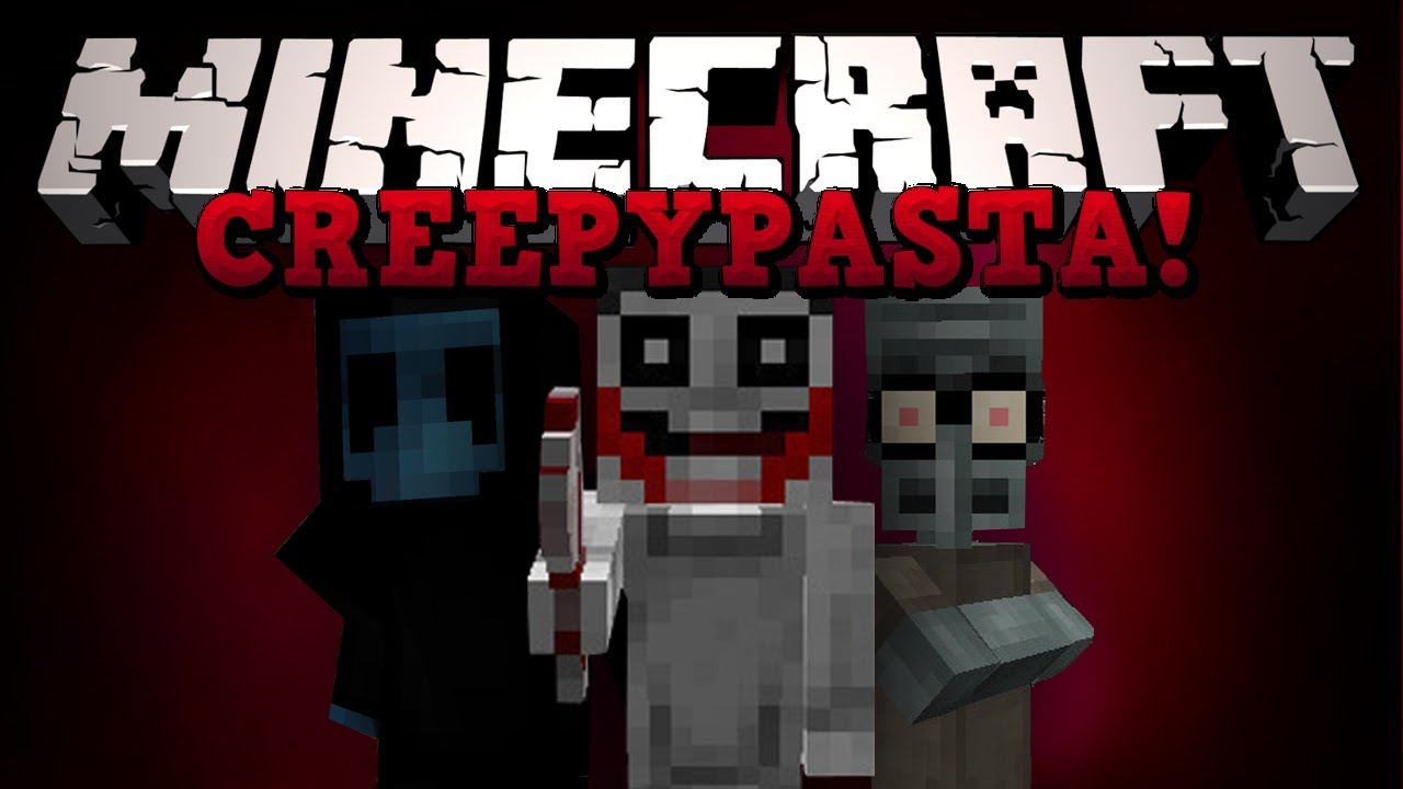 МОД ДЛЯ MINECRAFT 1.7.10 CREEPYPASTACRAFT