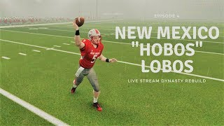 NCAA FOOTBALL 14: NEW MEXICO LOBOS DYNASTY|EPISODE 4|