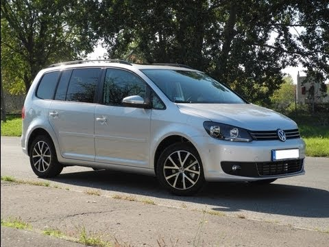 volkswagen touran 1 4 tsi comfortline dsg youtube. Black Bedroom Furniture Sets. Home Design Ideas