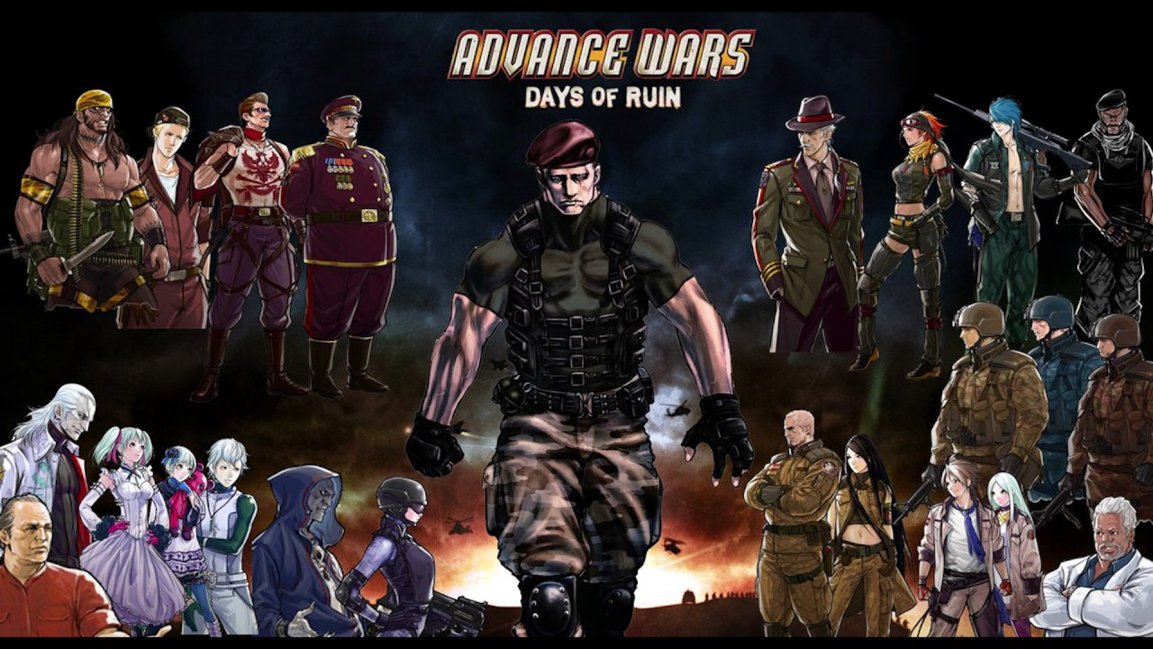 Image result for advance wars days of ruin