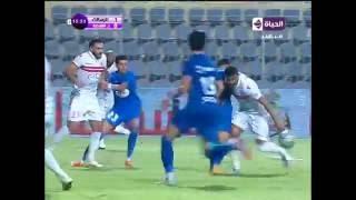 هدف الزمالك الاول في اتحاد الشرطة مقابل 0 كاس مصر 12 يوليو 2016