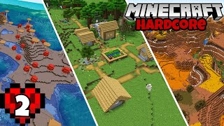 Let's Play Minecraft Hardcore | Amazing Rare Seed! Episode 2