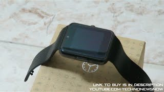 Yarrashop GT08 Bluetooth SmartWatch Review for iPhone and Android | An Apple Watch Lookalike