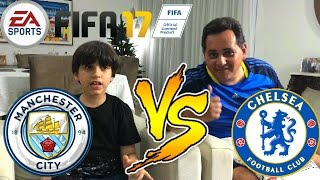 FIFA 17 MANCHESTER CITY X CHELSEA