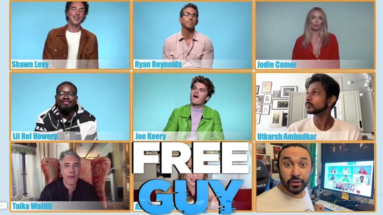 Ryan Reynolds, Taika Waititi, & Free Guy Cast ANSWER MY QUESTION!!