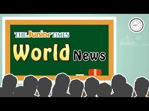 The Largest Outdoor Training Class - 주니어타임즈와 함께 하는 World News 동영상 강의 ( The Junior Times - No.691 )
