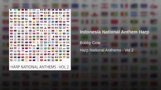 Indonesia National Anthem Harp