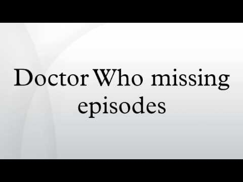 Doctor Who missing episodes