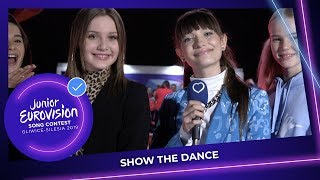 SHOW THE DANCE with Carla  and Viki Gabor