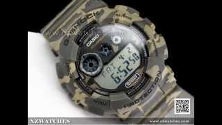 Casio G-SHOCK Military Camouflage Sport Watch GD-120CM-5, GD120CM