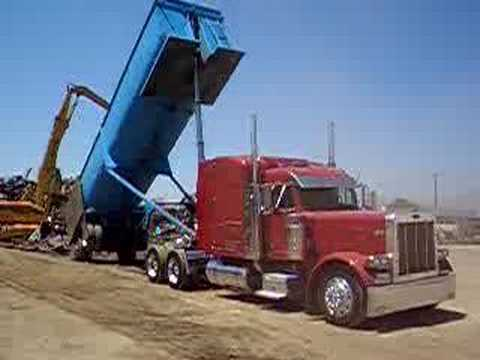 Peterbilt End Dump Youtube