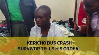 Kericho bus crash survivor tells his ordeal