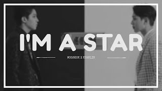 WOOSEOK X KUANLIN - 'I'M A STAR' Easy Lyrics (SUB INDO)