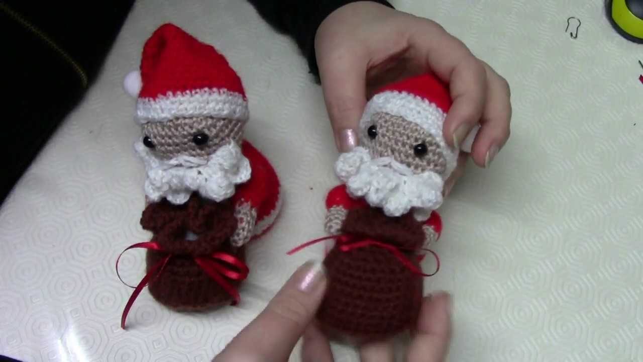 La piccola bottega della Creatività: Babbo Natale amigurumi - Tutorial  uncinetto | 720x1280