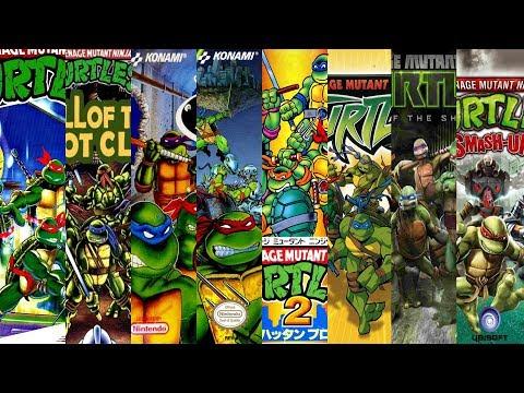 The Evolution Of Teenage Mutant Ninja Turtles Games
