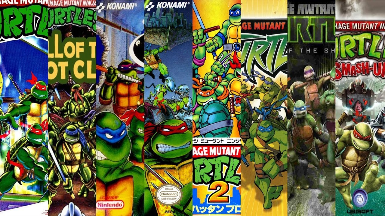 The Evolution Of Teenage Mutant Ninja Turtles Games Youtube