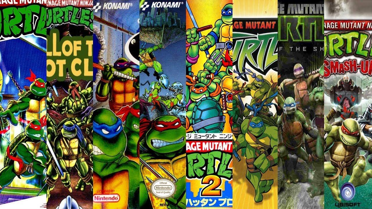 The Evolution Of Teenage Mutant Ninja Turtles Games Youtube