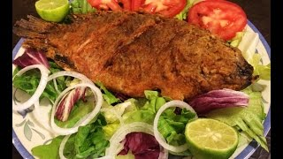 Fried Fish, easy delicious recipe!!