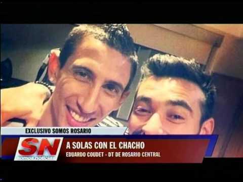 A solas con el Chacho Coudet. Entrevista de @gabimaldo al DT Canaya.