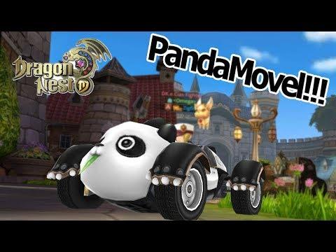 Dragon Nest M: Montaria ! Dicas e informações - Comprei o Carro Panda Omega Play