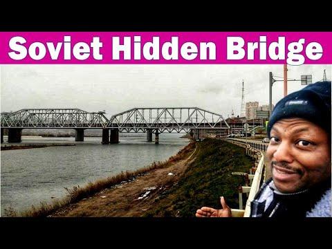 Krasnoyarsk Russia: Searching for secret bridge, hidden bridge   Watch this before it's taken down