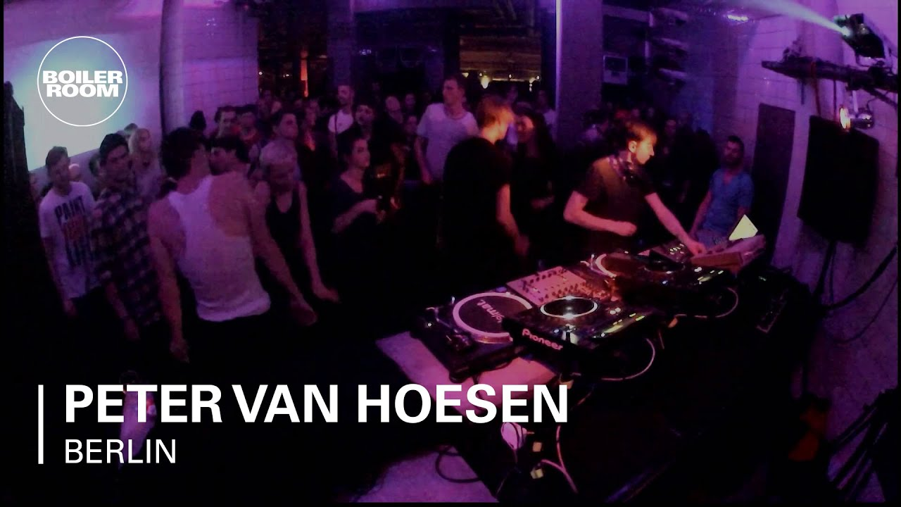 Peter Van Hoesen Boiler Room Berlin Hybrid Set Youtube