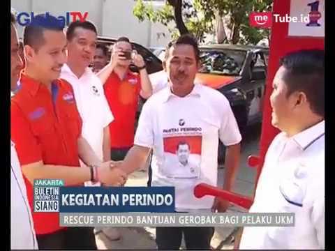 Rescue Perindo Bagikan Gerobak ke Pedagang di Jakarta Pusat, Berita terbaru