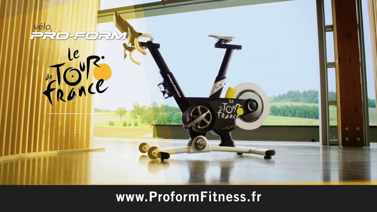 v lo proform tour de france 2016 youtube. Black Bedroom Furniture Sets. Home Design Ideas
