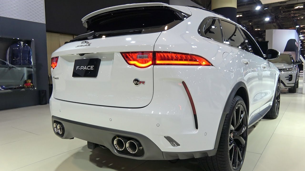 2019 Jaguar F Pace Svr Detailed Look Canadian Premiere