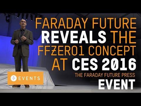 Faraday Future Reveals The FFZERO1 Concept At CES 2016!!!