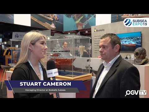SUBSEA EXPO 2019 - OGV Interview Stuart Cameron from Boskalis