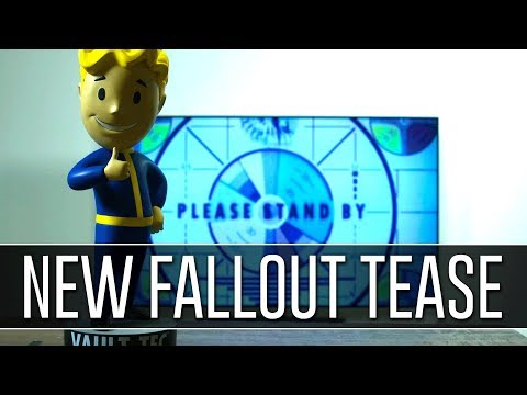 NEW FALLOUT GAME TEASED BY BETHESDA!!! #PleaseStandBy
