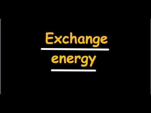 Exchange Energy