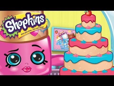 SHOPKINS - SHOPKINS CAKE | Cartoons For Kids | Toys For Kids | Shopkins Cartoon