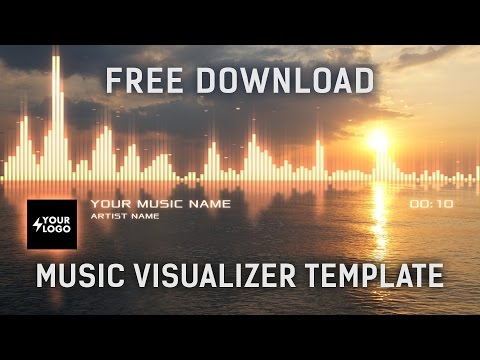 Audio Spectrum Music Visualizer After Effects Template [Free Download]