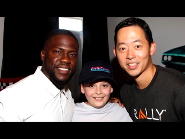 EXCLUSIVE: Kevin Hart Provides Dream Bedroom Makeover for Boy Battling Leukemia