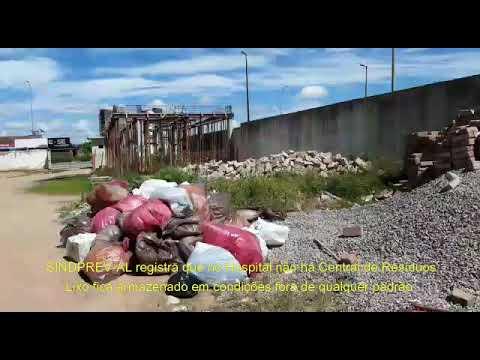 SINDPREV-AL constata situação de calamidade na Unidade de Emergência do Agreste, em Arapiraca