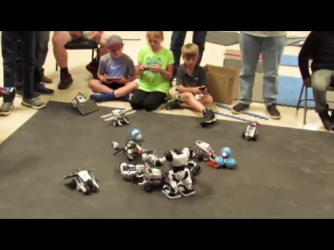 Mississippi Robotics 2016 SUMO Wrestling WORKSHOP April 9,2010