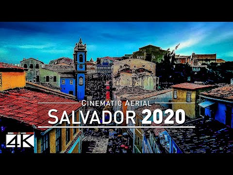 【4K】Drone Footage | Salvador - Capital of Bahia | BRAZIL 2019 ..:: Cinematic Aerial Film *EXTENDED*