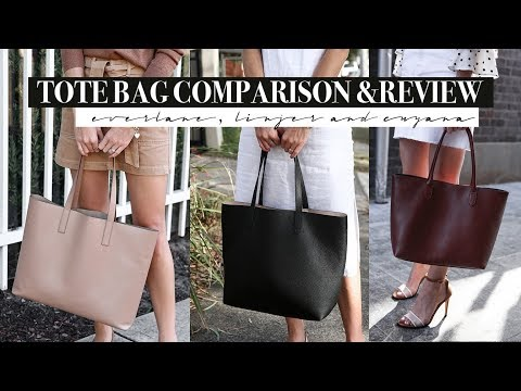 Best Tote Bag for Work? Linjer, Everlane and Cuyana Tote Bag Review & Comparison | Mademoiselle