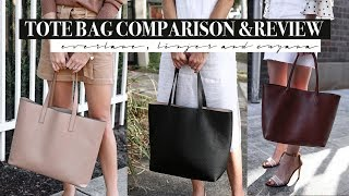 Best Tote Bag for Work Linjer Everlane and Cuyana Tote Bag Review amp Comparison Mademoiselle