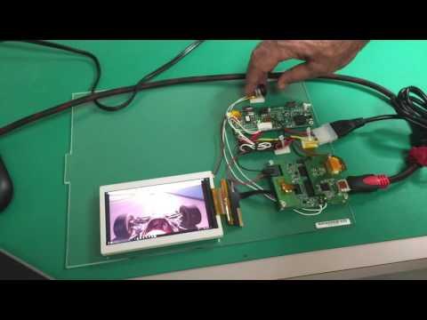 Qvio HDMI/LVDS to MIPI converter - YouTube