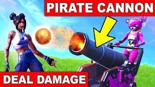 """DEAL DAMAGE TO OPPONENTS WITH A PIRATE CANNON"" - EASY GUIDE WEEK 2 CHALLENGES (FORTNITE SEASON 8)"