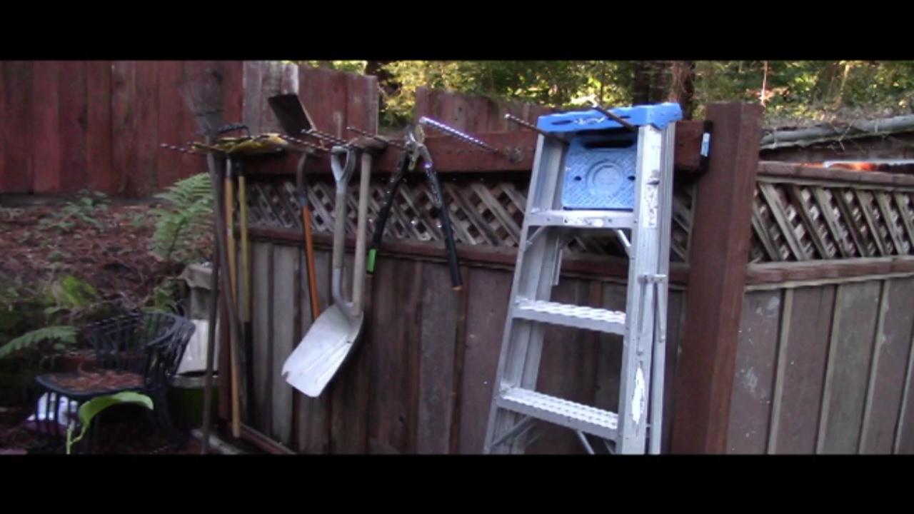 diy hanging garage tool organizer fast easy cheap