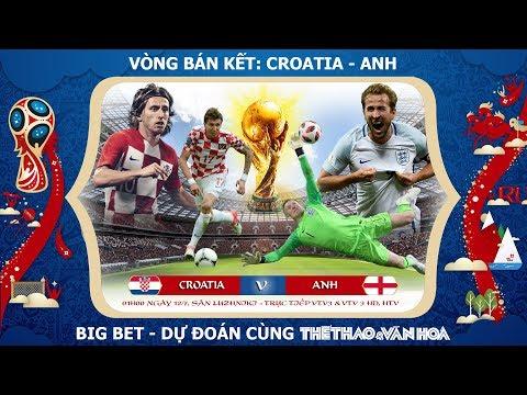 Soi kèo dự đoán bán kết World Cup 2018 - Croatia vs Anh: Vẫn đặt cửa vào Tam Sư