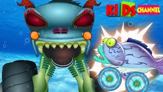 Haunted House Monster Truck | good vs evil | cartoon cars by Kids Channel
